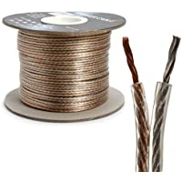 Bulk Speaker Wire, 12-Gauge 2-Conductor , 300-Feet Spool