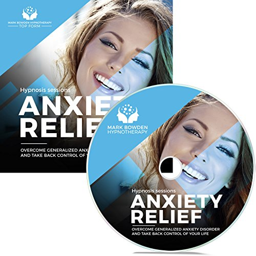 Anxiety Relief Self Hypnosis CD / MP3 and APP (3 in 1 Purchase!): Meditation to Overcome Generalized Anxiety Disorder and Take Back Control of Your Life (Best Meditation App For Anxiety)