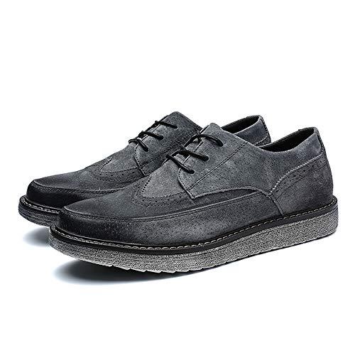 shoes Scarpe Casual Enhanced Uomo Oxford Outsole retr Business Youth Xiaojuan British dwSqd