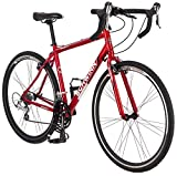 Schwinn Men's Axios CX 700c Drop Bar Bicycle, Red, 18-Inch Frame