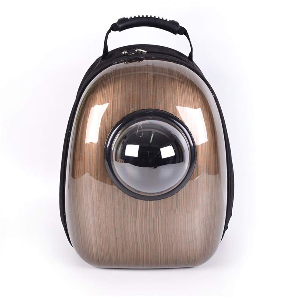 Beautiful wood stripe Ryan Pet Backpack,Pet Out Bag Carrying Bag Shoulder Dog Backpack Space Bag (color   Beautiful wood stripe)