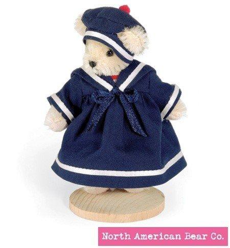 North American Bear Muffy Vanderbear Miniature Cruisewear by Little Gem Teddy Bears