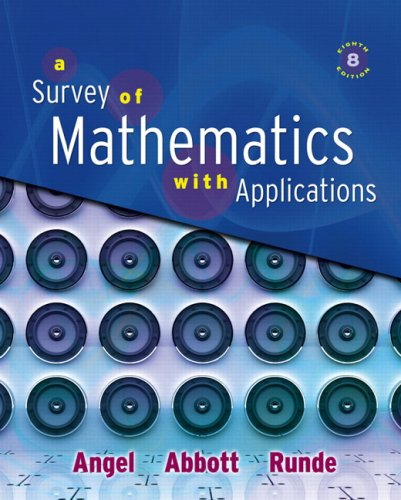 Survey of Mathematics with Applications Value Package (includes MathXL 12-month Student Access Kit) (8th - Value Package Applications