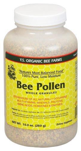 Bee Pollen - Low Moisture Whole Granulars - 10 oz (Organic Bee Pollen)