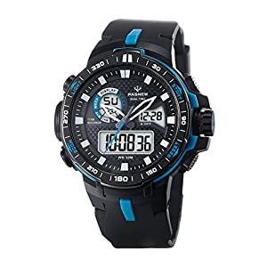 Teens Boys Girls Sport Analog Digital Dual Time Water Resistant Wrist Watches Backlight Alarm Stopwatch