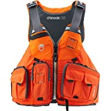 NRS Chinook OS Fishing Lifejacket (PFD)-Orange-XL/XXL