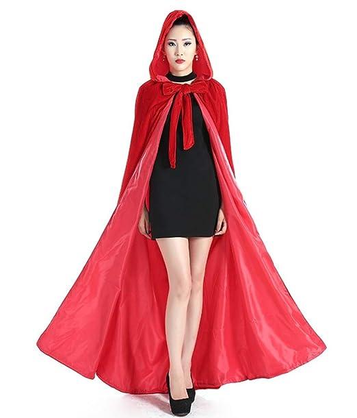 Amazon.com: Chaqueta con capucha para mujer, de terciopelo ...