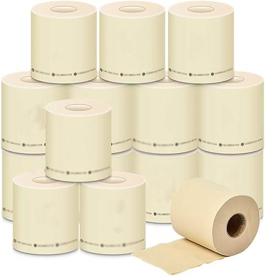 Zhijin Papel higiénico de 3 Capas, Papel higiénico Biodegradable ...