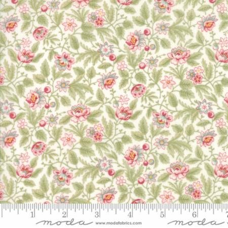 Moda Natural (Moda Fabrics Poetry by 3 Sisters Floral Flowerbed Natural)
