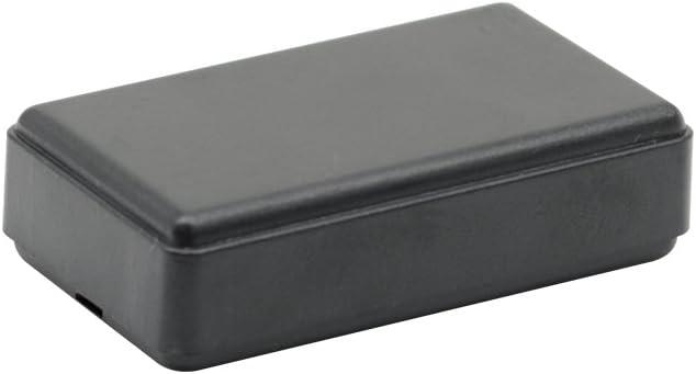 Project Box Black 1.6 x 0.78 x 0.43 inch 40 x 20 x 11 mm LeMotech 5Pcs ABS Plastic Electrical Project Case Power Junction Box