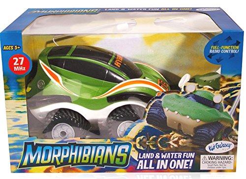 Kid Galaxy Amphibious RC Car Morphibians Rover. 4x4 Remote Control Toy, 27 MHz