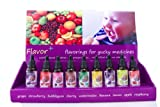 Pharmacy Flavoring Kit Prescription Vials Flavor Drops Pharmacist Rx Pediatrician Urgent Care Dentist Health Care Supply Fruit Flavors for Drugs Medication Flavors Home Flavoring Kit