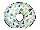 Nursing Pillow Cover Retro Robots for Baby Boy or Girl