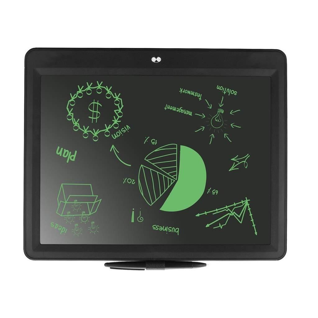 marca de lujo Tablero de de de Escritura LCD de Pantalla Grande de 15 Pulgadas Pizarra pequeña para el hogar Tablero de Graffiti de Pintura electrónica Adecuado para el hogar, la Oficina, la Escuela (Negro)  nuevo estilo