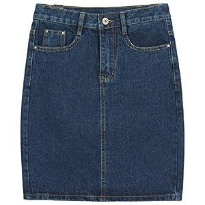 Women's  Rugged Wear Denim Skirt