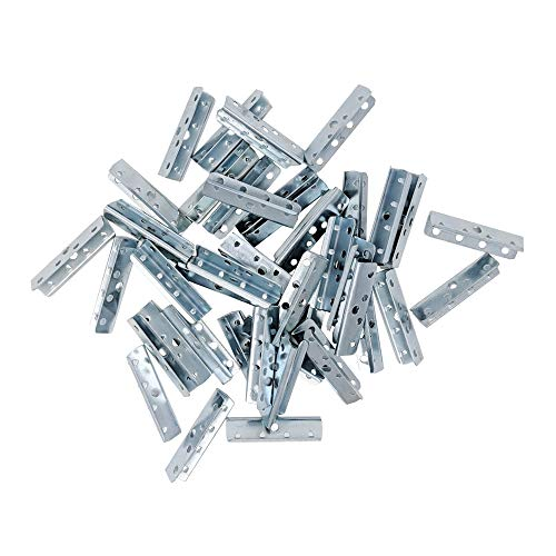 100pk Metal Chair Rubber Upholstery Webbing End Clips for Chair Furniture (100pk) by Wholesale Upholstery Supply (Image #2)