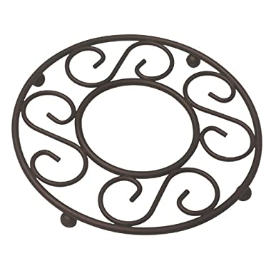 Home Basics Scroll Collection Trivet