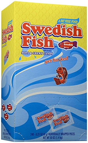 Swedish Fish Soft And Chewy Candy - 240 Count -