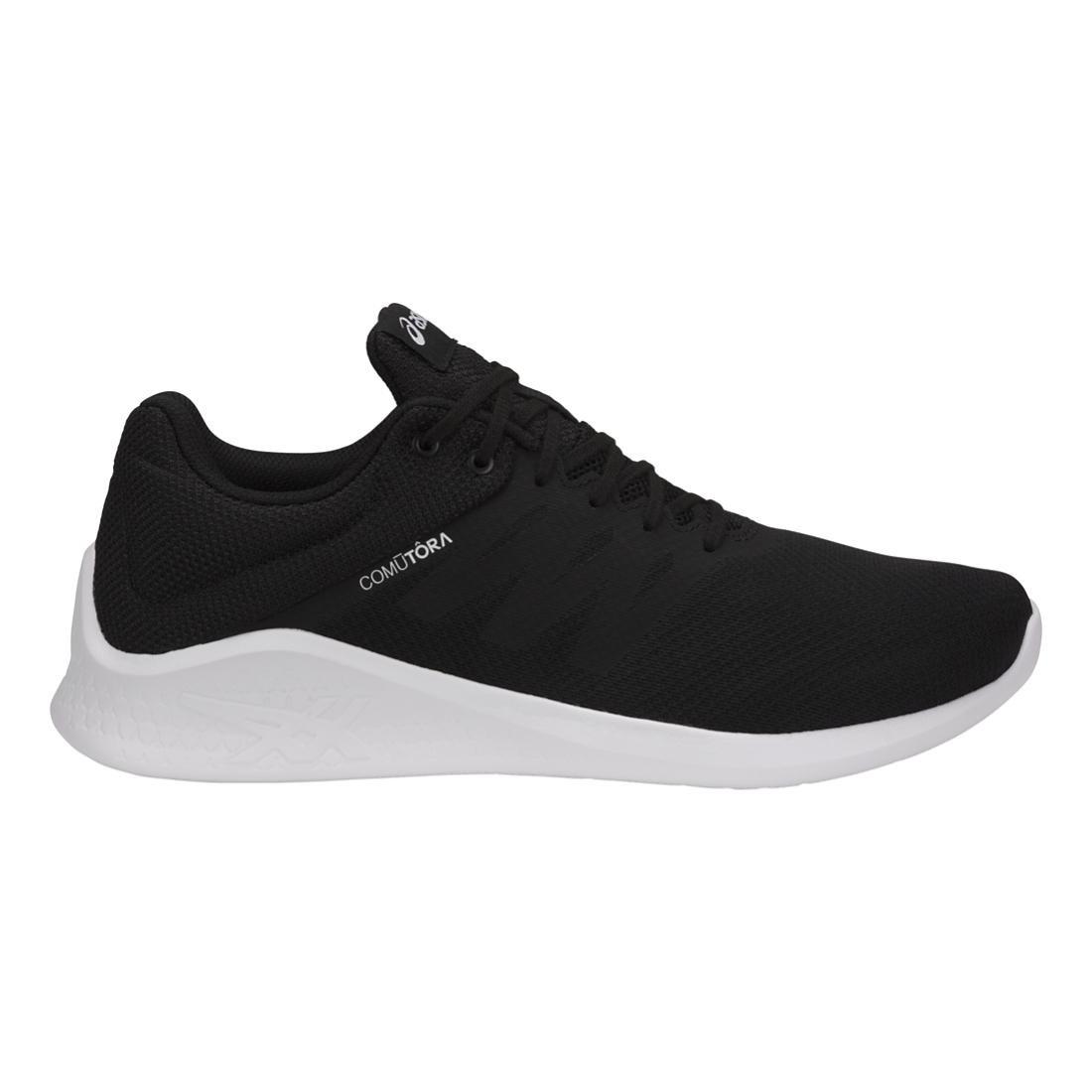 ASICS Women's COMUTORA Running Shoe B071LH6Z61 8 B(M) US Black/Black/White