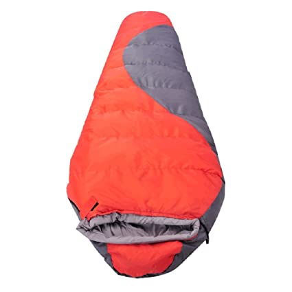 ZXQZ Saco de dormir momia/Splicable impermeable/doble capa espesar/acampar al aire