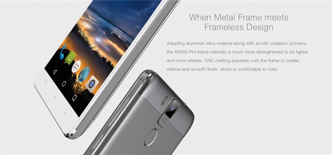 danny3 oukitel K6000 Pro 3 G + 32G 13 MP Atrás Cámara 2 SIM ...