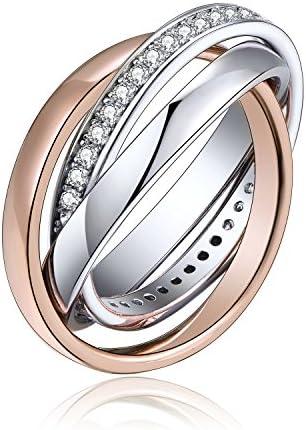 bague femme avec 3 anneaux