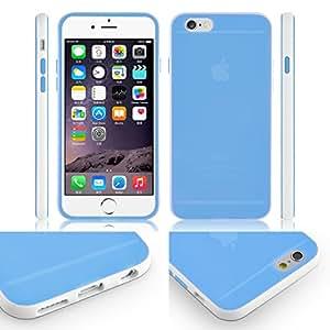 [iPhone 6s caso] SOOPER cruzerlite doble tono alpexe mate para iPhone 6s, plástico, azul, Blue