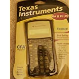 TEXAS TI-BA II PLUS - ADVANCED FINANCIAL CALC (TIBA2P) -