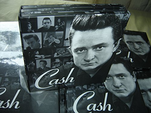 COLLECTORS DREAM Johnny Cash TREASURES / 3 Black Retro LP Design CDs in the box: The Hits, Duets, Gospel Singer / Stunning Collector's ()