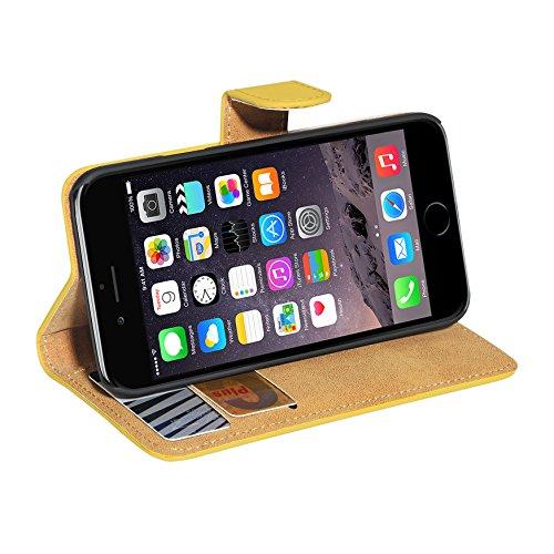 PEDEA Tasche für Apple iPhone 6 gelb