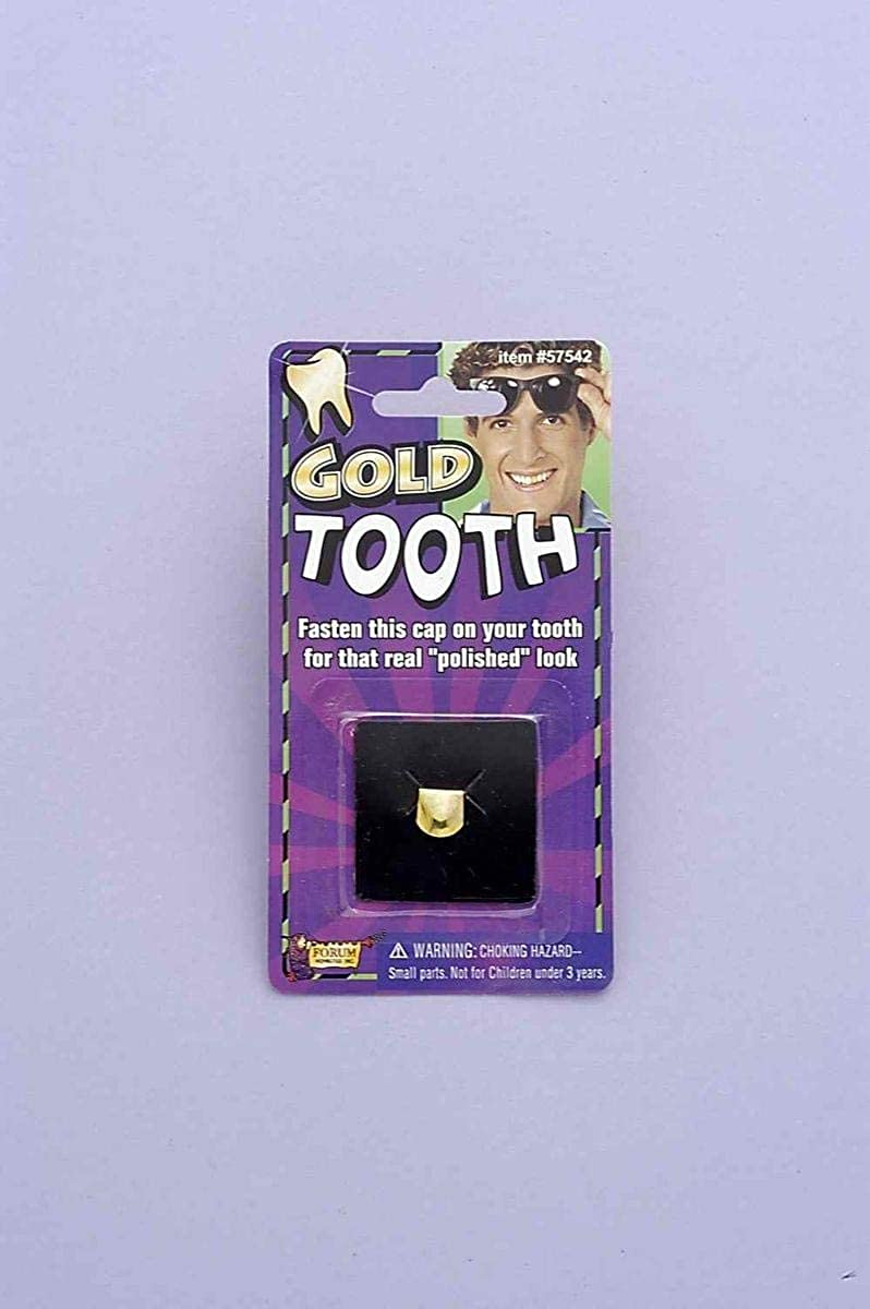 Forum Novelties Inc - Gold Tooth Cap Carded