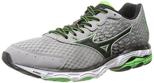Mizuno Men's Wave Inspire 11 Running Shoe,Alloy Black,10 D US