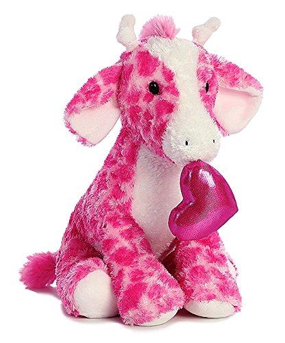 Aurora World 12'' Pink & White Gandy Luv Giraffe Plush Toy 12' Giraffe