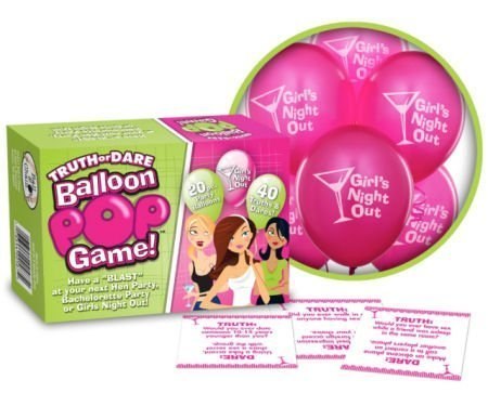 Bride-to-be Truth or Dare Balloon Pop Game by Bride-to-be