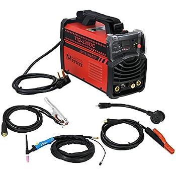 TIG-220 Amp TIG-Torch Stick ARC IGBT Inverter DC Welder 110/230V ...