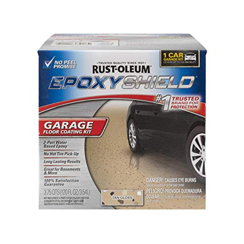 Rust-Oleum 251966 Garage Floor Kit, Tan Gloss