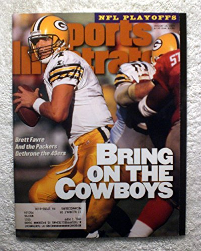 Brett Favre - Green Bay Packers - First Cover Appearance