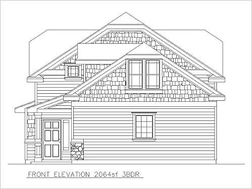 Construction Ready House Plan 3 Bedroom House 2 064 Square Feet Autocad File Jason Tomlinson Amazon Com Books