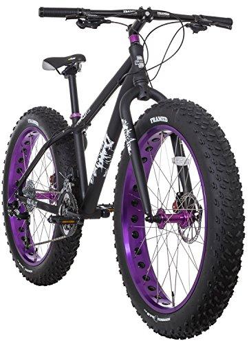 Framed Minnesota 2.0 Fat Bike Black/Purple Womens Sz 17