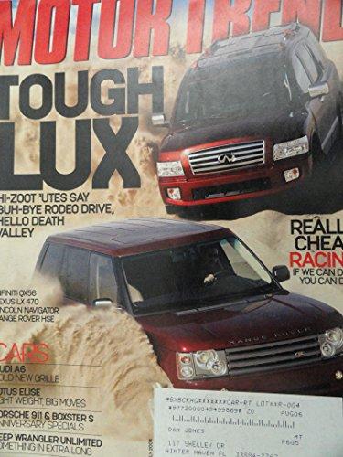 2004 Infiniti QX56 / 2004 Land Rover Range Rover / 2004 Lexus LX 470 / 2004 Lincoln Navigator / 2004 Chevy Chevrolet Aveo / 2004 Kia Rio / 2004 Scion xA Road Test