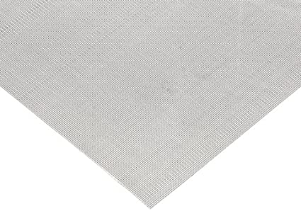 Amazon.com: 304 Stainless Steel Woven Mesh Sheet, Unpolished (Mill ...
