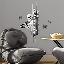 RoomMates RMK3081SCS Star Wars Classic Stormtroopers P and S Wall Decals, 14-Inch Wide 30-Inch High