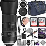 Tamron SP 150-600mm F/5-6.3 Di VC USD G2 Lens for Nikon DSLR Cameras with Complete Photo and Travel...