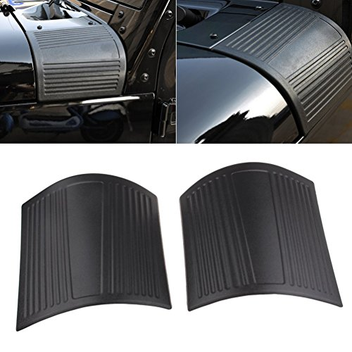 MINGLI Durable ABS Cowl Body Armor for 2007-2016 Jeep JK Wrangler Unlimited Black ABS Plastic Cowl Side Body Armor For Jeep Wrangler JK Rubicon Sahara Jk Abs Plastic Body