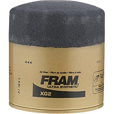 FRAM XG2 Ultra Synthetic Spin-On Oil Filter with SureGrip: Automotive