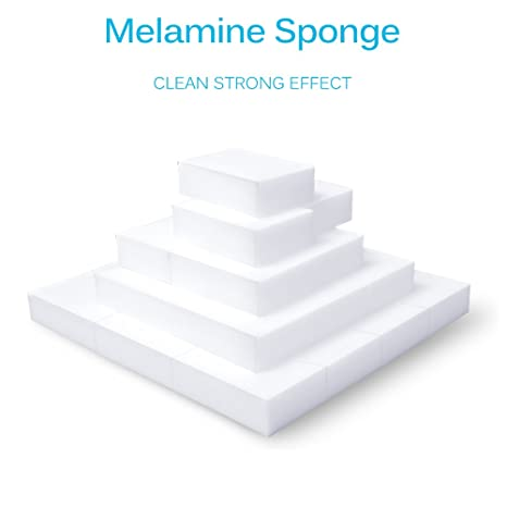 Magic Sponge Eraser, 20PCS Nano Sponge Eraser Cleaning Sponge Stain Remover Multifuncional High Density Melamine