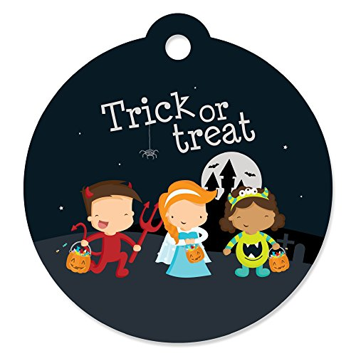 Trick or Treat - Halloween Party Favor Gift Tags (Set of 20)