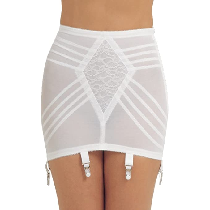 1950s Vintage Lingerie, Retro Pin Up Underwear Rago Pull On Open Girdle $36.00 AT vintagedancer.com