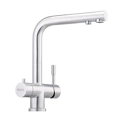Designer 3 vie rubinetto Franke Scarico L, adatto in acciaio ...