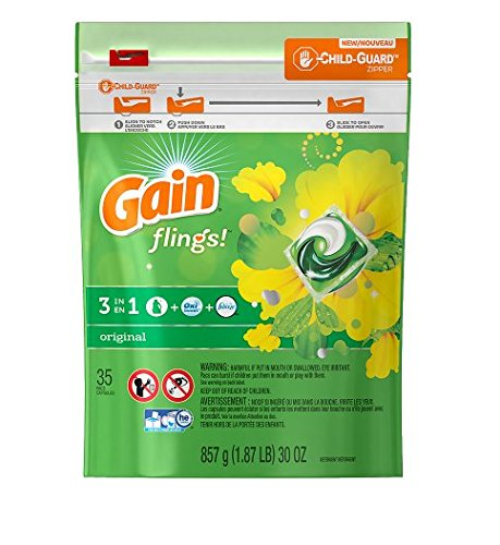 Fresh! Gain Flings Laundry Detergent Original35.0 ea(1pk)